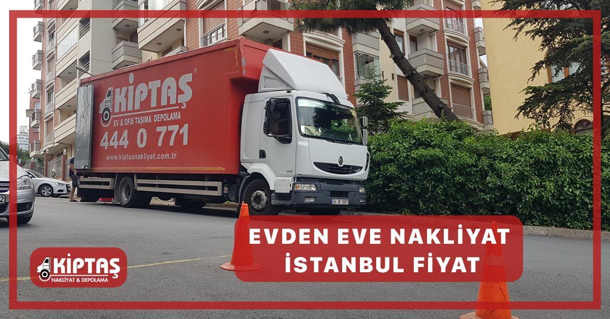 Evden Eve Nakliyat İstanbul Fiyat