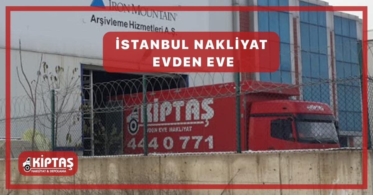 İstanbul Nakliyat Evden Eve